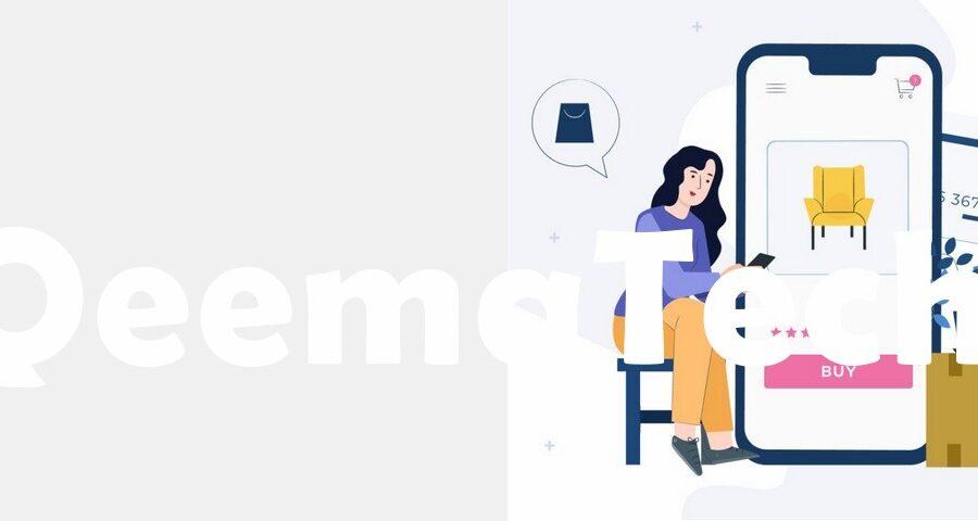 تصميم تطبيق متجر الكتروني