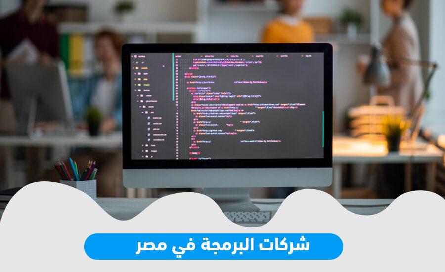 شركات البرمجة في مصر
