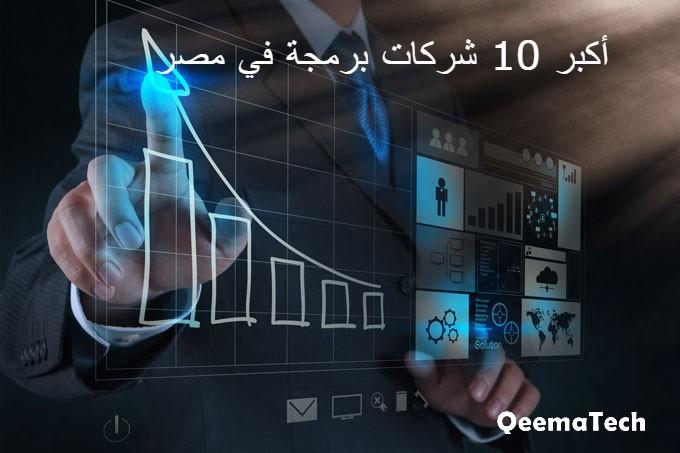 أكبر 10 شركات برمجة في مصر