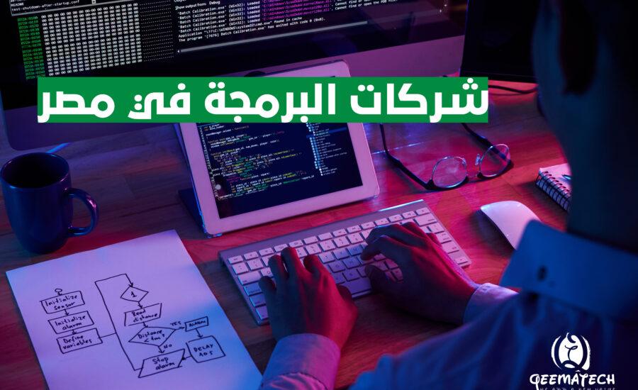 شركات البرمجة في مصر لعام 2021